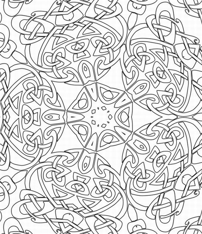 celtic coloring
